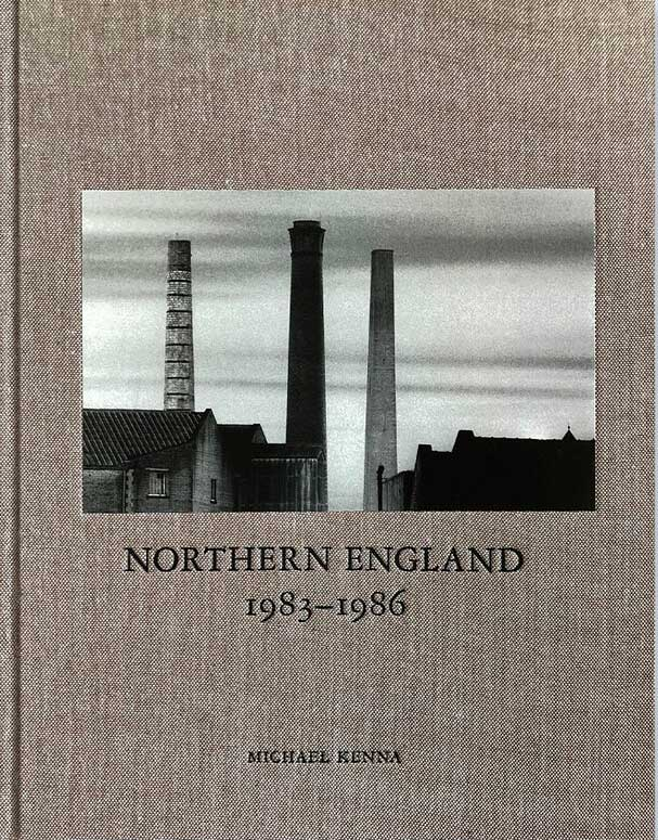 Cover of the book Northern England by Michael Kenna, depicting the chimneys of a northern industrial town